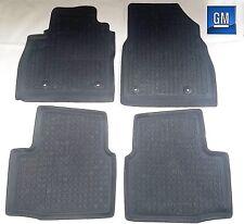16-17 Chevy Cruze Premium Black Rubber All Weather Floor Mat Set NEW GM  638
