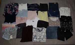 Riesiges Kleiderpaket  Bekleidungspaket Gr. XL/XXL 44/46 Hose Shirt Tunika Jacke