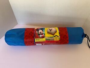 NEW Mickey Mouse-Ka-Camp Play Tent includes Tent, Flag, 3 Camping Badges