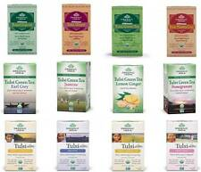 Organic India Tulsi Tea  Tea Bags  Choose from 12 Variants  100%25 Veg