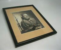 Rare Authentic Vintage Actor Van Johnson Autograph Signed Framed Photograph