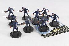 Star Wars Miniatures Rebel Storm Bespin Guard X 9