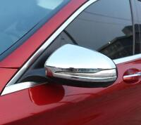 CHROME MIRROR COVERS CAPS WINGS MOLDING TRIM for MERCEDES W205 C CLASS 2014< LHD