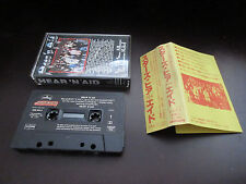 Stars Hear'n Aid EU Cassette Tape Japanese Assembled Issue Dio Iron Maiden WASP