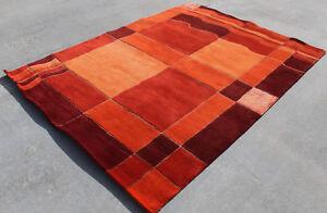 R4998 Beautiful Modern Thick Pile Tibetan Area Rug 5.8' X 7.9' Handmade in Nepal