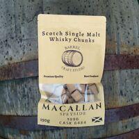 MACALLAN 1996 Single Malt Whisky Barrel Chunks Home Brew Spirits BBQ Flavour