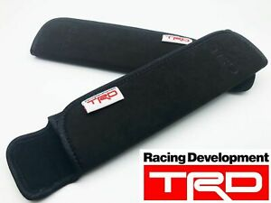 JDM TRD STYLE BK SHOULDER SEAT BELT PAD FOR 86 ALTEZZA CHASER LEXUS IS 250 350