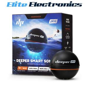 Deeper Smart Sonar PRO Fishfinder Depth Sounder Fish Finder DP1H20S10