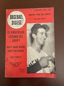 January 1954 Baseball Digest