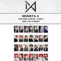 MONSTA X - 2ND ALBUM TAKE.1 ARE YOU THERE? PHOTO CARD & GROUP PHOTO CARD SET