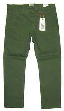 HIS ® Jeans W 34 L 32 STRETCH STANTON Randy Regular fit OLIVE GRÜN 3700 - 2.Wahl