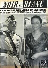Noir et Blanc n°530 - 1955 - Mariage des Milles et Une Nuits - Sherpas -Einstein