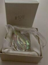 Crystal Glass Hanging Light / Sun / Rainbow catcher by Hyaline & Dora, New