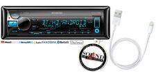 Kenwood KDC-X799 CD Receiver w/ Bluetooth, Lightning to USB Interface KDCX799