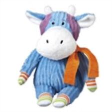 new HAZEL  mini  interactive  cbk midwest blue  plush   monkeez sock cow