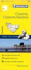 Charente, Charente-Maritime, France Local Michelin Map 324