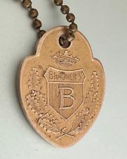Vintage Charge Coin Tag: BLAUNER'S; Famous Dept Store Philadelphia; Blauner 1911