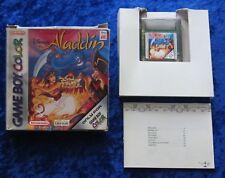 Aladdin, Nintendo GameBoy Color Spiel, OVP Anleitung