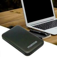 """Portable hardisk Cases 2TB Portable USB 3.0 2.5"""" HDD For PC Windows NEW J6J4"""