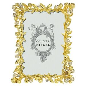 "OLIVIA RIEGEL CORNELIA GOLD 4X6"" FRAME RT1083.NEW IN BOX."
