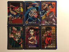 Street Fighter Zero Carddass Special Zero Prism Set 6/6