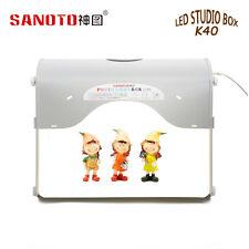 SANOTO K40 LED Mini Photo Studio Box Portable Photography with built-in Light