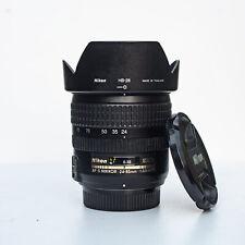 Nikon Nikkor AF-S 24-85mm full frame zoom lens f/3.5-4.5 - see sample pics