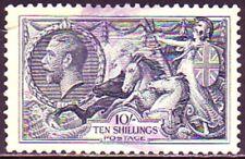 Used Great Britain #224. Britannia. Medium Fine 1. Scv $65