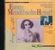 CD album: Fanny Mendelssohn.Hensel: Kammer Musik. Stefan Mickisch. Troubadisc. K