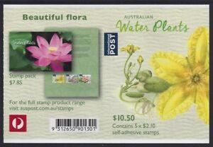 Australia 2017 Water Plants (Marshwort) booklet Phil 901301 B744