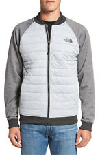 NWT NORTH FACE Norris Point Insulated Full-Zip Bomber Jacket XXL TNF Light Grey