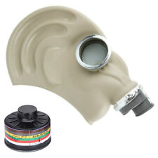 Army Military Tf1 Gas Mask With P3 Particle Filter for Biological Protection