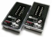Seymour Duncan SH-8SG SYNYSTER GATES INVADER Pickup SET Black/Chrome