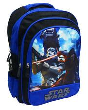 NEW LARGE KIDS BACKPACK SCHOOL BAG PRESCHOOL STARWARS BLUE BOYS GIFT