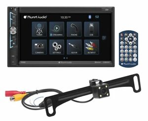 """Planet Audio P695MBRC 6.95"""" Double DIN In-Dash Bluetooth Car Stereo Receiver"""