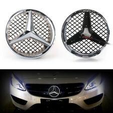 Illuminated LED Front Grille Emblem Light Star Badge for Mercedes Benz C series