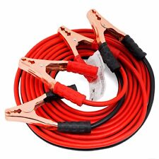 20FT 4Gauge Heavy Duty Booster Cable Jumper Power Emergency Battery Starter Car