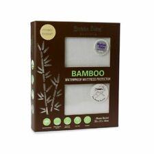 Bubba Blue Bamboo White Moses Basket Waterproof Mattress Protector