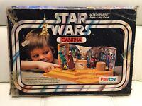 Vintage 1977 Palitoy Star Wars Cantina Playset Original Box Only