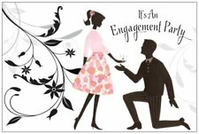 20 ENGAGEMENT PARTY Proposal Invitations POSTCARDS 6x4