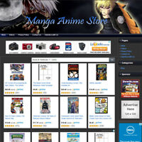 ANIME STORE - Professionally Designed Online Affiliate Business Website For Sale