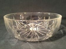 Brunner Crystal Glass Dish/Bowl (ref W213)