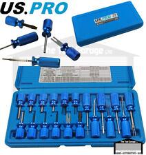 US Pro Tools 19pc Universal Terminal Tool Release Plug Connectors Set 6786