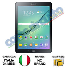 "TABLET SAMSUNG T819 GALAXY TAB S2 VE 9,7"" NERO LTE WI-FI+4G AND6 NO BRAND ITALIA"