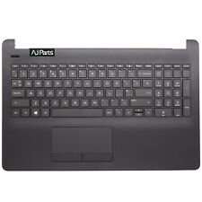 New HP 15-BW635UR Replacement Black Palmrest + UK Layout Keyboard For HP Compaq