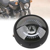 6.5 Pouce Phare de Moto LED Clignotant Lumière Ampoule Headlight Pour Cafe Racer