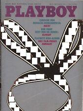 German Playboy Magazine 1980-11 Gianna Facio, Playmate Susanne Henrik