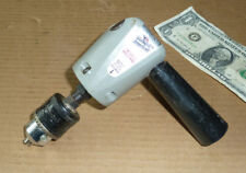 """Vintage Vermont American 2 Speed Angle Drive Drill,Jacobs Chuck,3/8"""",Hole Tool"""