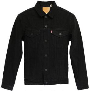 Levi's® Trucker Jacket Standard Fit Gr. 3XL Berk Schwarz Jacke Jeansjacke Herren