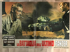 FOTOBUSTA LA BATTAGLIA DELL'ULTIMO PANZER, Guy Madison, Erna Schurer, GUERRA